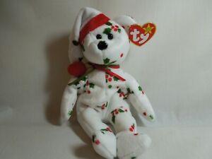TY Beanie Baby 1998 Holiday Teddy