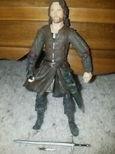 LOTR LORD OF THE RINGS HELMS DEEP ARAGORN LIGHT BEARD VARIANT BATTLE 5 ARMIES 6/""