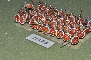 25mm Age Dark / Byzantine - Infanterie 40 Figs Inf (11983)