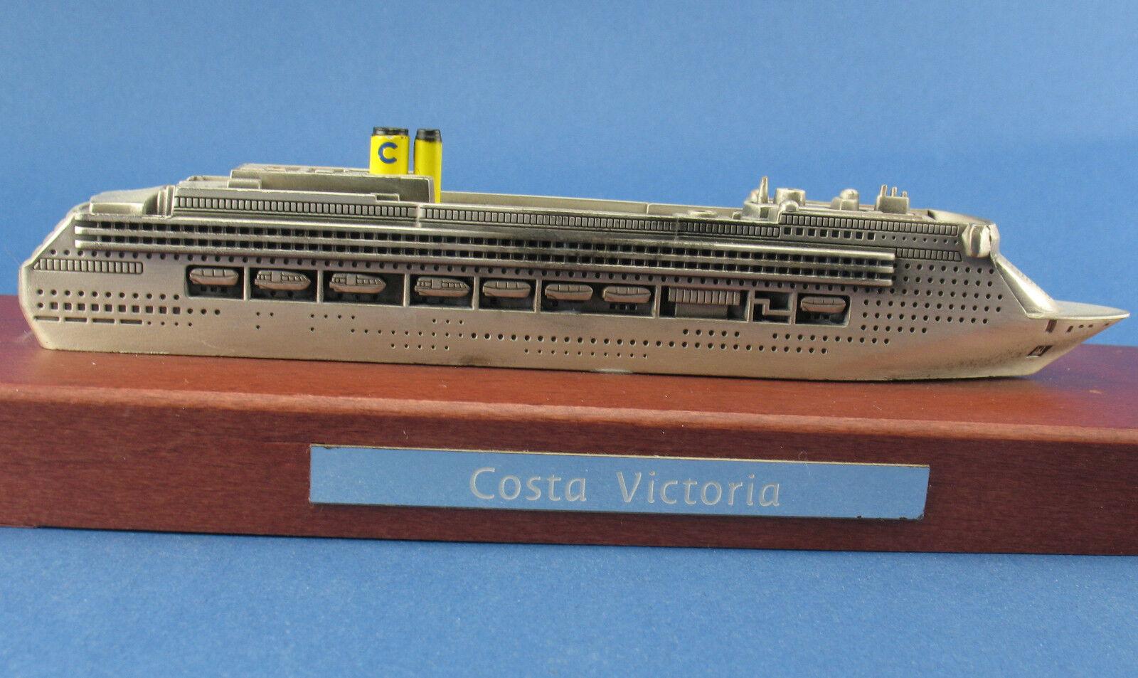 COSTA VICTORIA-Bateau de croisière-Cruise Ship - 17,9 cm Modèle Bateau-ideafp