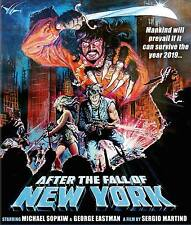 2019 AFTER THE FALL OF NEW YORK Code Red BluRay ESCAPE FROM MAD MAX ROAD WARRIOR