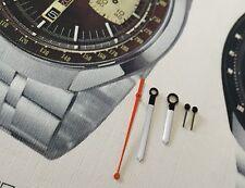 HANDS for SEIKO Bullhead Speedtimer Chronograph 6138-0040 Hour Minute Second new