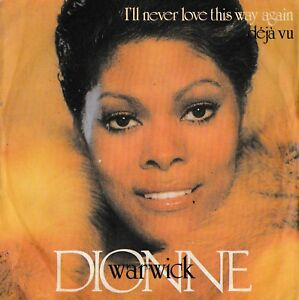 DIONNE WARWICK - I'll Never Love This Way Again - '7/45 giri 1980 Italy Arista - Italia - DIONNE WARWICK - I'll Never Love This Way Again - '7/45 giri 1980 Italy Arista - Italia