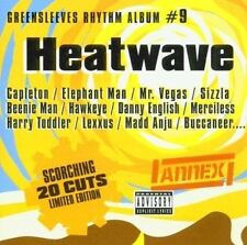 Greensleeves Rhythm Album Vol.9 - Heatwave [CD] Artistes Divers (1206)