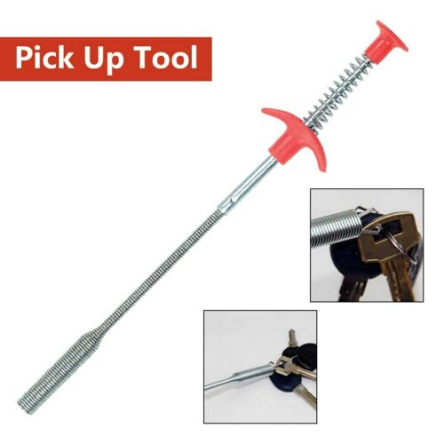 1pc Flexible Long Reach Claw Pick Up Outil étroit Bend courbe Grabber Gripper