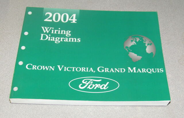 2004 Ford Crown Victoria Mercury Grand Marquis Wiring Diagram Service Manual