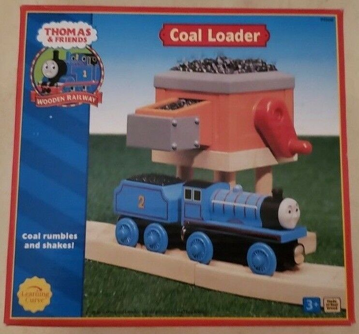 THOMAS & FRIENDS WOODEN RAILWAY - COAL LOADER 2003 - NEW IN THE BOX