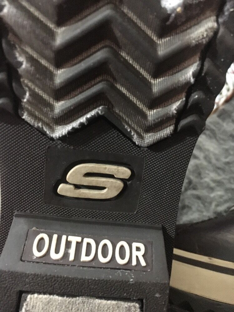 Skechers Cold Highlanders Weather Chestnut Brown Natural Highlanders Cold Boots Size 8.5 Faux Fur c0d1bb