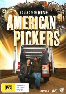 AMERICAN-PICKERS-COLLECTION-9-NON-USA-FORMAT-PAL-REGION-2-amp-4-3DVD