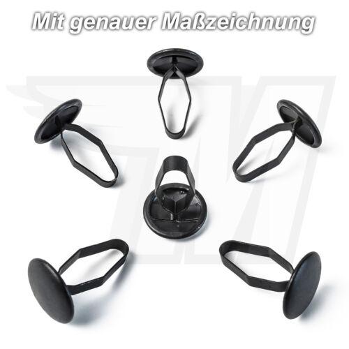 15x Metall Clips Halterung Klammern für Ford Verkleidung6071353 E864168S76