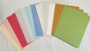 Anna-Griffin-Metallic-Cardstock-Layers-2-each-of-10-Colors-5-x-7