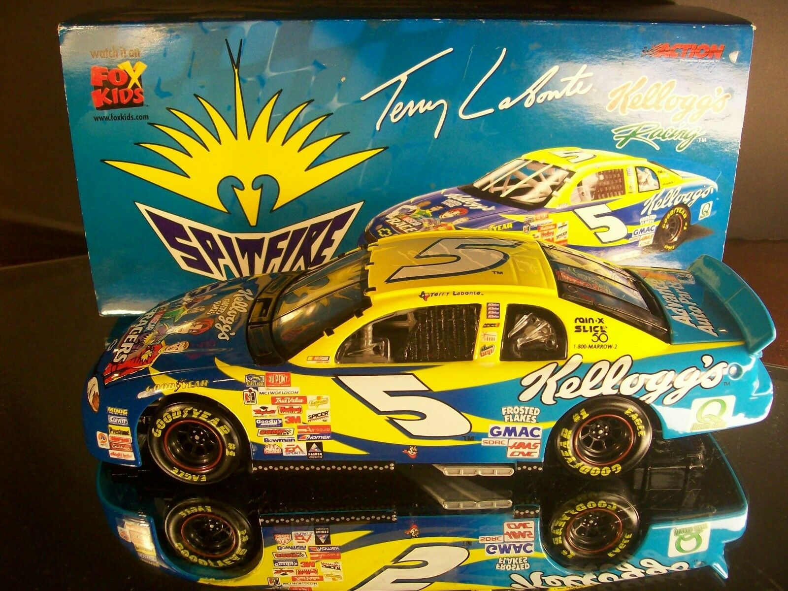 Terry Labonte Kellogg's Frosted Flakes Nascar Racers 1999 Chevrolet RCCA 3500