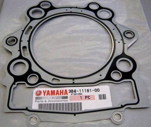 06-17 Yamaha Grizzly Raptor Rhino Cylinder Head Gasket 3B4-11181-00-00 OEM ATV