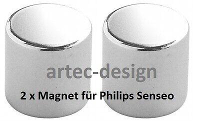 vernickelt /& wasserresistent 2 x Magnet für Senseo HD 7850 7852 7853 7854