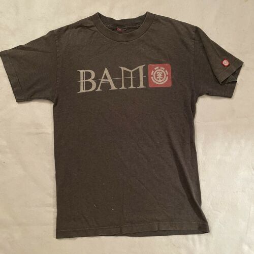 Vintage 90s Element Bam Margera Skateboards T Shir