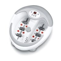 Beurer FB50 Luxury Foot Bath Spa with Water Heater + Bubble & Vibration Massage