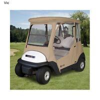 Fairway Club Car Golf Cart Enclosure Storage Rain Cover Accessories 2 Passengers