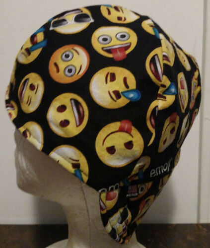 Biker Emoji faces Handmade 100/% cotton pipefitter,4 panel hat Welding