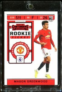 2019-20-Chronicles-TMALL-MASON-GREENWOOD-RC-Rookie-Ticket-Red-SSP-MINT