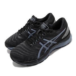Asics-Gel-Nimbus-22-Black-Grey-Floss-Men-Running-Shoes-Sneakers-1011A680-004