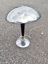 grande lampe de bureau champignon 20 ème siècle en métal