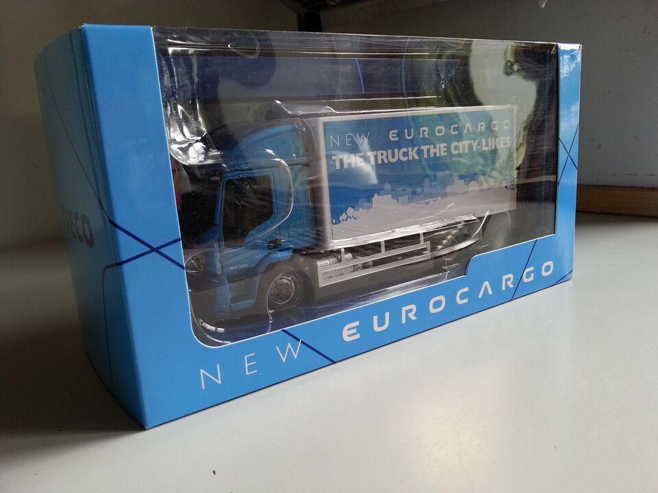 Modellastbil, IVECO EuroCargo, skala 1/43