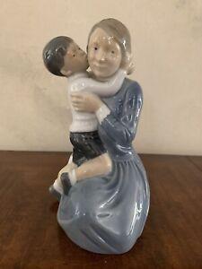 Royal Copenhagen Mother With Child #3457 Figurine
