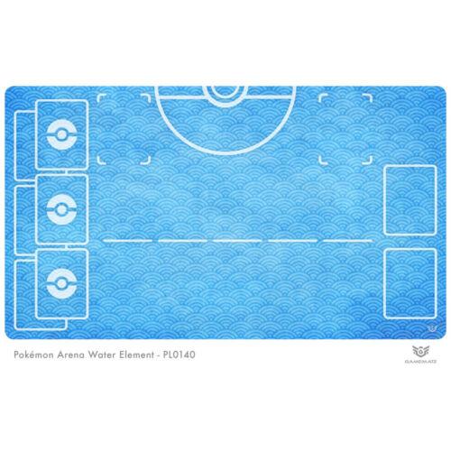 Pokemon Arena Playmat Water Element PL0140 Pokemon Play Mat