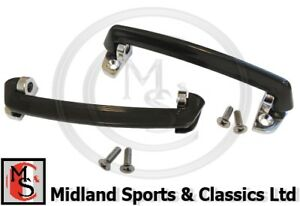 GLZ118 pair MG Midget Interior Door Handles