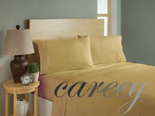 1500 THREAD COUNT 4 PIECE SHEET SET ALL COLORS SIZES Better Than Egyptian Cotton