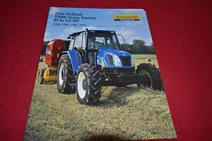 Details about New Holland T5040 T5050 T5060 T5070 Tractor Dealers Brochure  DCPA