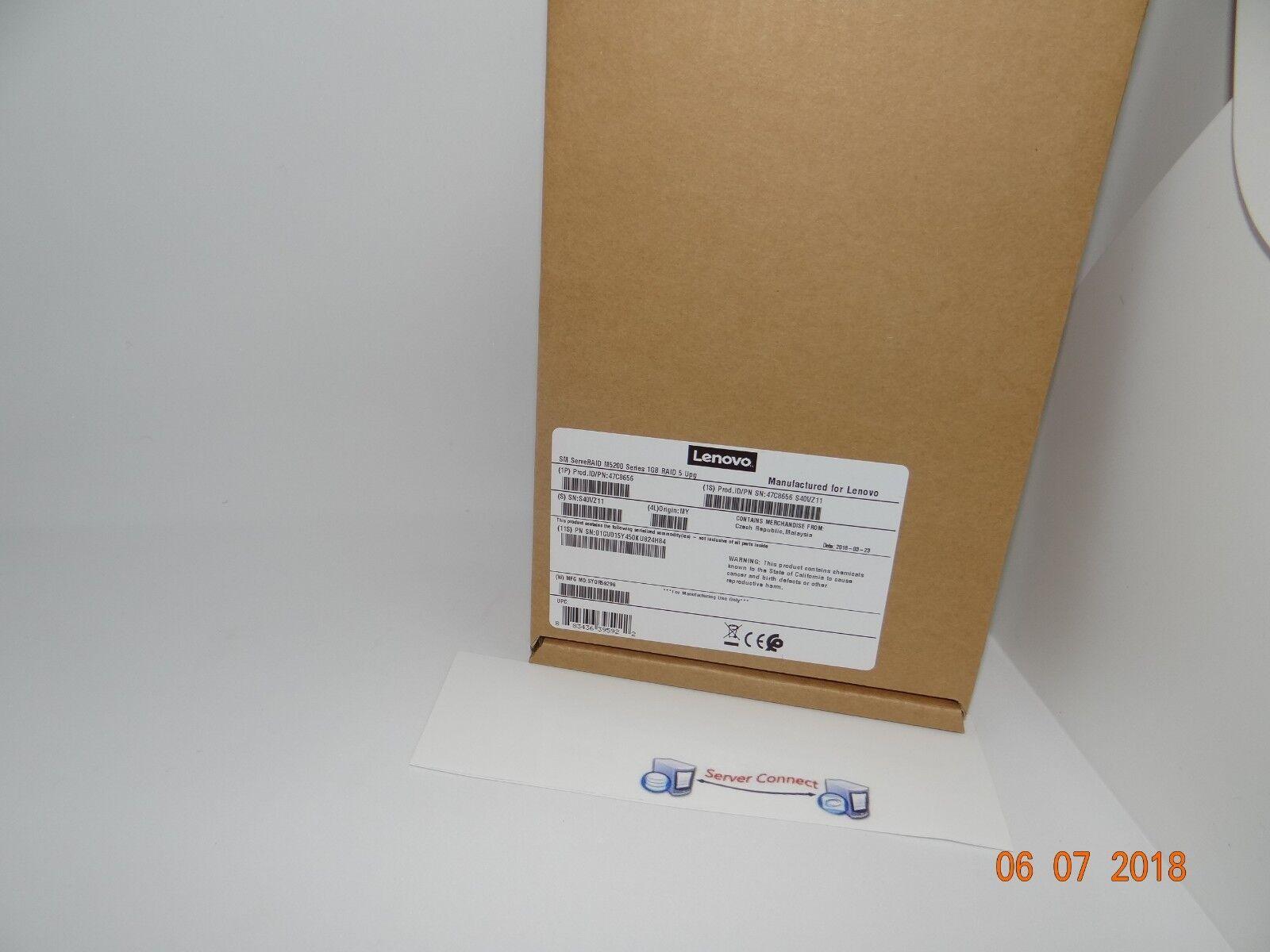 47C8656 IBM/Lenovo ServerRaid M5200 Series 1GB RAID 5 Upgrade Cache Card