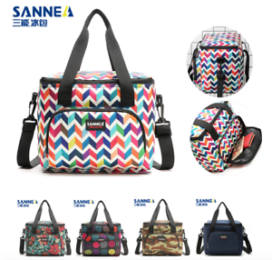 Sanne-10L-Lunch-Bag-Insulated-Cooler-Box-Tote-Bento-Bag-Smooth-Zipper