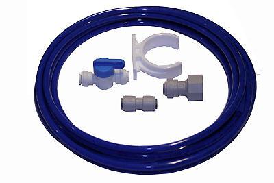 John Guest 1/4 Tube Connecteurs A Complete Range Of Specifications kit-2 Cote à Réfrigérateur Filtre à Eau