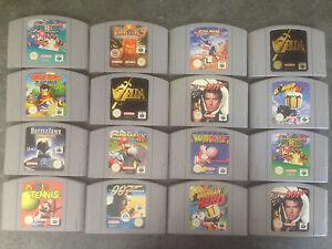 Juegos Varios Nintendo 64 Multi Listado Buena Mezcla De Los Mejores
