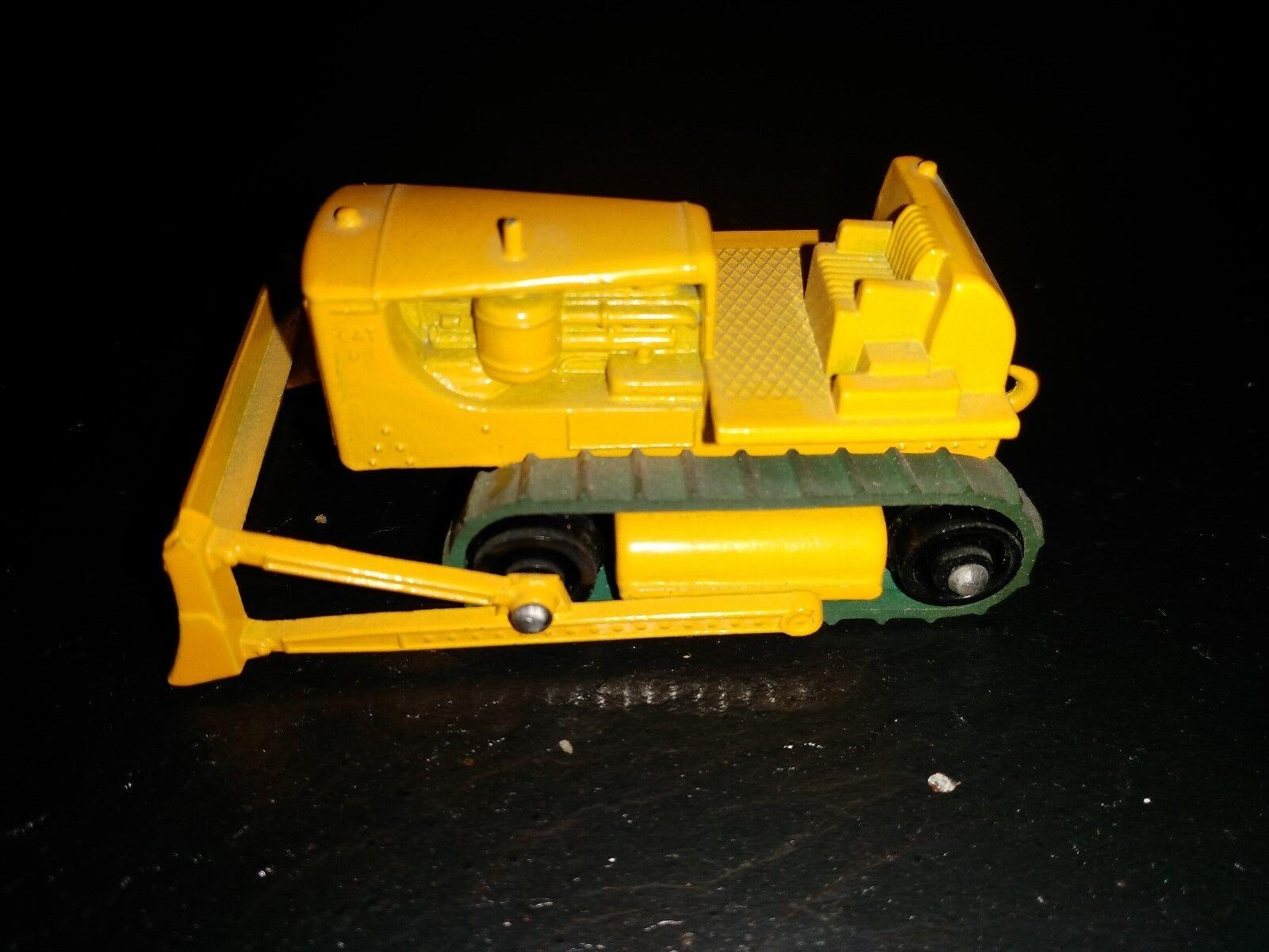 Matchbox Series 1-75 Regular Wheel Serie ohne Box  Caterpillar Bulldozer  No. 18