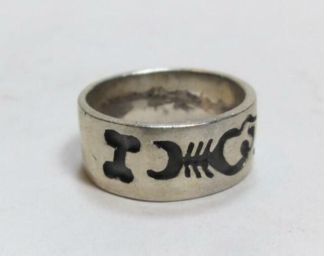 Sterling Silver Skeleton Sail Fish Ring