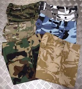 Style Militaire Combat Cargo/utilitaire/camouflage/multicam Shorts-toutes Tailles-neuf-afficher Le Titre D'origine Usines Et Mines