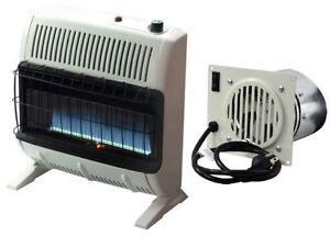 Mr Heater 30 000 BTU Propane Blue Flame Vent Free Heater