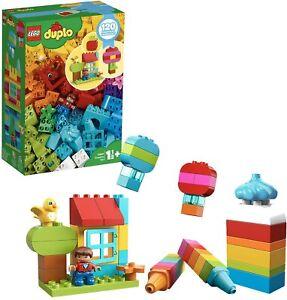 LEGO® DUPLO® - 10887 - L'amusement créatif -  Mes 1ers pas - 120 pièces