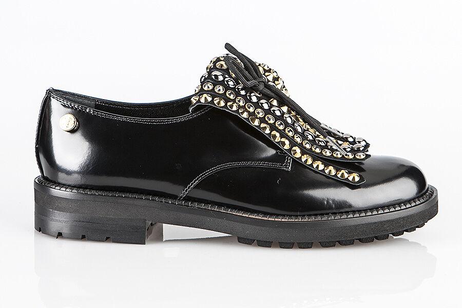 Zapatos De Cuero Baldinini Auténtico Auténtico Auténtico Diseñador Italiano Nuevo Tallas 6,7,10,11  Venta barata