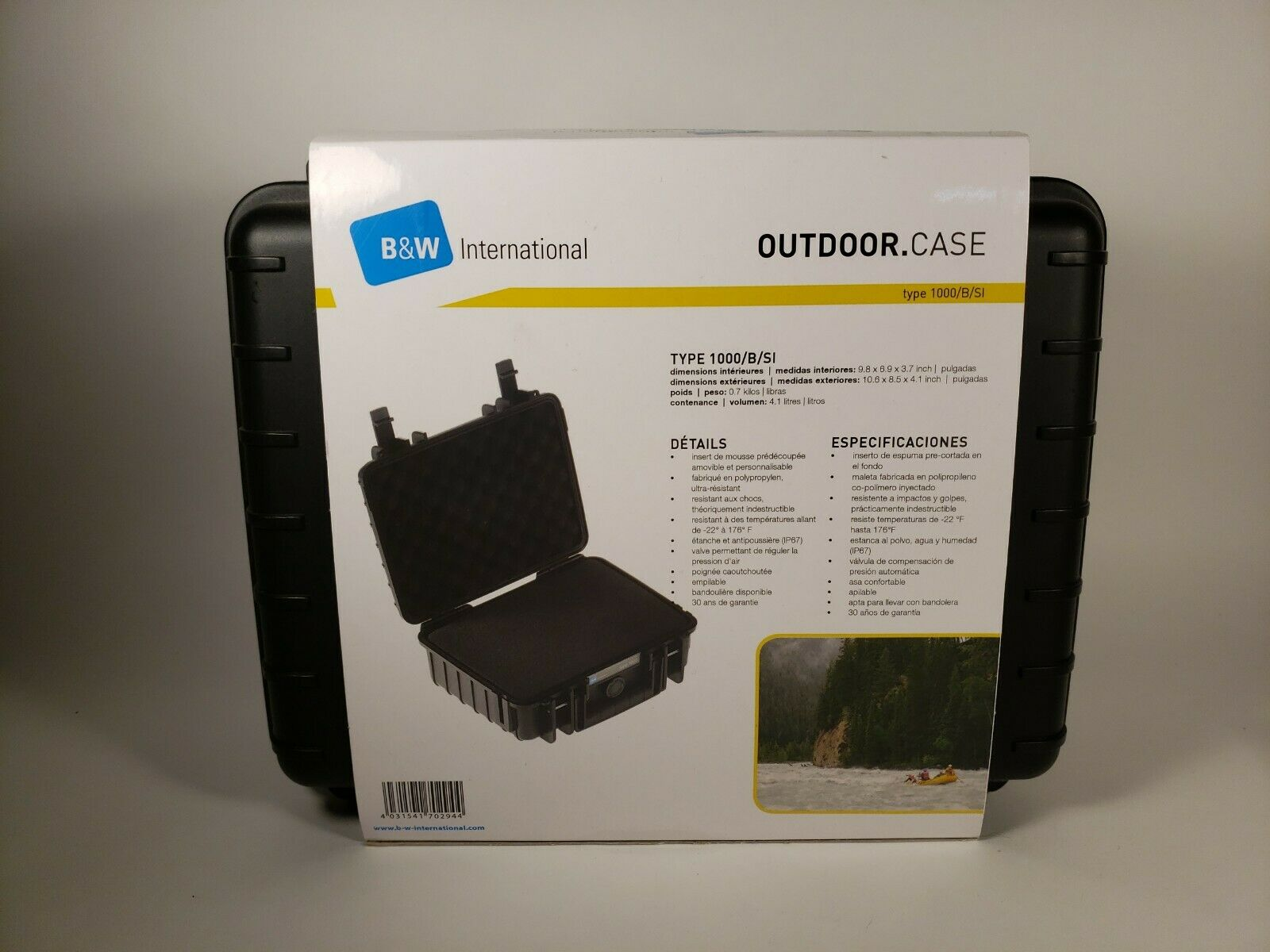 B W International Type 3000 364x295x169 Gopro Case Up To 58 Off For Sale Online Ebay