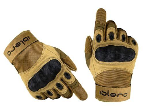 Motorradhandschuhe ISLERO® Leder kurz Motorrad Handschuhe Sommer Gr S-XXL
