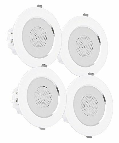 PDIC4CBTL3B Pyle Surround Wall Set of 4 Ceiling Home Speaker White