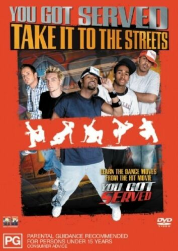 1 of 1 - YOU GOT SERVED TAKE IT TO THE STREETS    DVD   R4   LIKE NEW