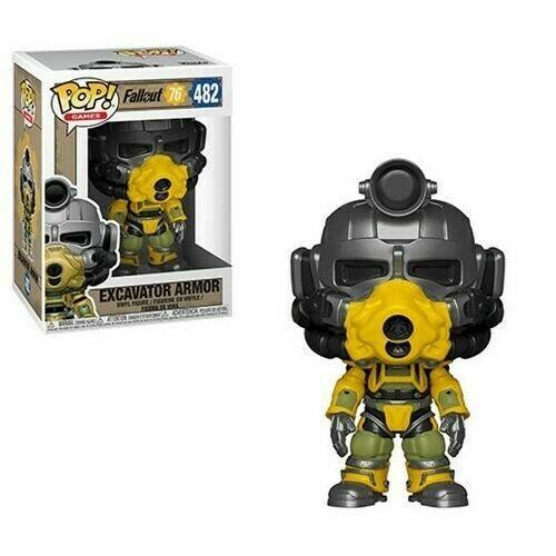 Figura in vinile #482 IDEA REGALO Fallout 76-Escavatore armatura di potenza FUNKO POP