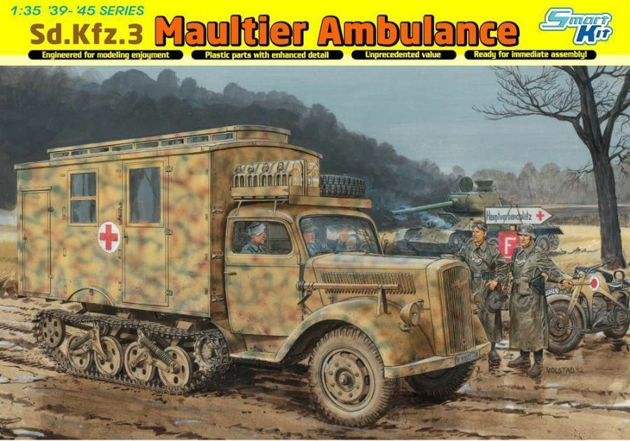 Dragon 1 35 6766  Sd.Kfz. 3 Mule Ambulance