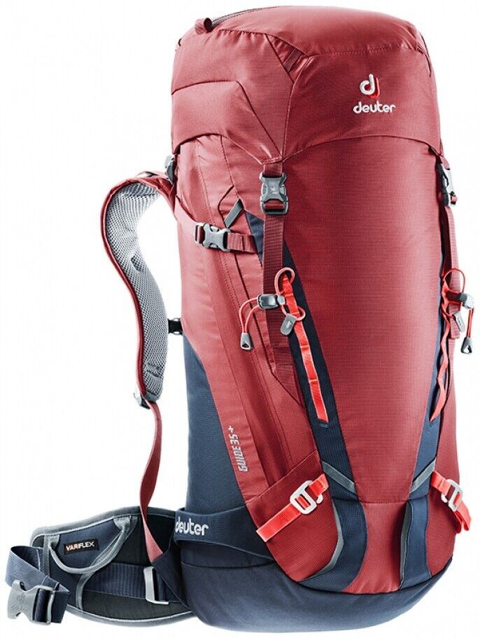 Rugzak Ski MountaineRing Hiking deuter Guide 35 Cranberry-Navy