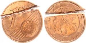 1 Cent Lack Coinage 180 Degree Stempeldrehung2005A Frg By Zerschneiden Cancelled