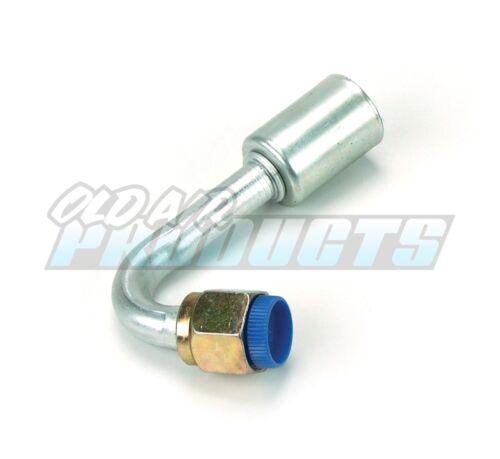 Female 120 Deg O-Ring A//c Hose Fitting Beadlock #8